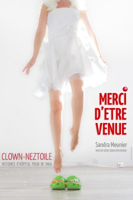 "Affiche Spectacle ""merci d'être venue"""