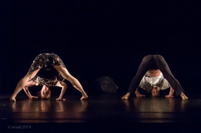 """Spectacle de danse """"Etr""""ange"""" de la compagnie corps pluriels"""