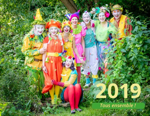 Neztoiles calendrier 2019 cover