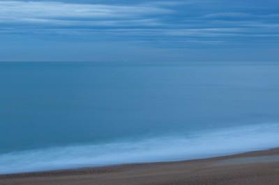 la mer le matin