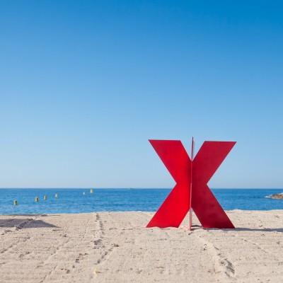 TEDx Cannes X sur la plage