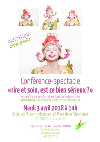 Affiche conférence spectacle